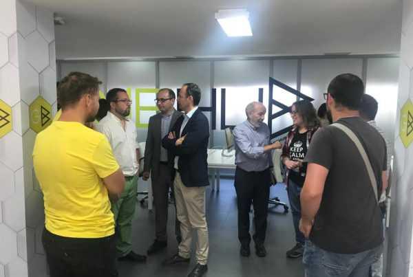 20190516 videojuegos1 parque científico Murcia game hub